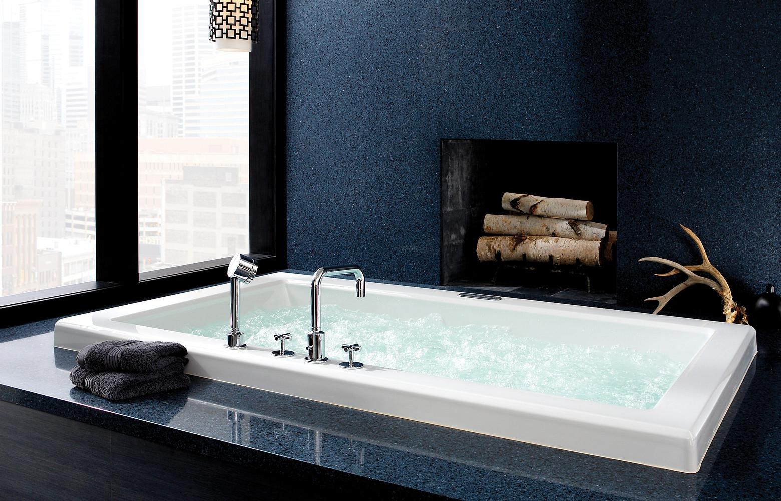blue quartz for bathroom